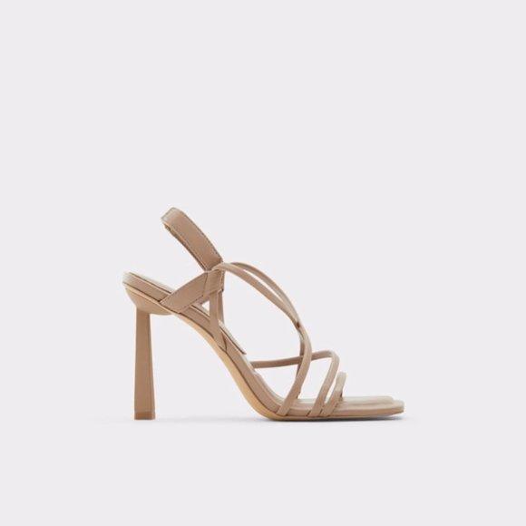 ALDO Amilia slingback sandal grey sz 9
